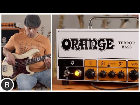 The Orange TERROR BASS is back !!
