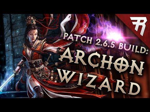 Diablo 3 Season 17 Wizard Vyr Chantodo Archon build guide - Patch 2.6.5 (Torment 16)