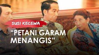 Susi Pudjiastuti Kecewa terhadap Pemerintahan Jokowi soal Impor Garam: Sadis, Petani Menangis