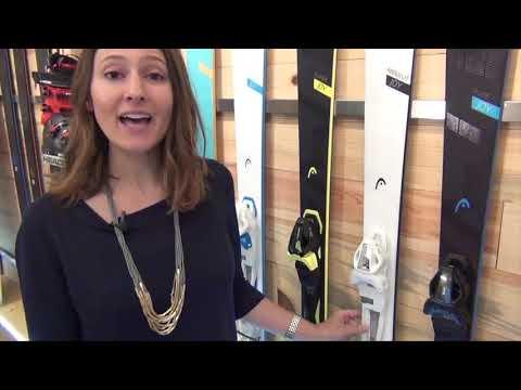 Смотреть видео Горные лыжи Head Absolut Joy + Joy 9 GW SLR 18/19