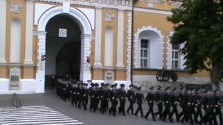 Присяга в Президентском полку на Соборной площади Кремля - 03.06.2017г - 3