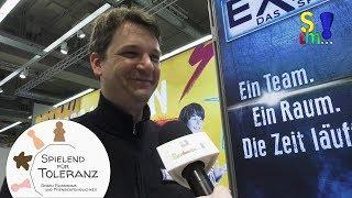 EXIT - Redakteur Ralph Querfurth im Interview - Kosmos - Spielwarenmesse 2019