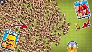 1 Max Valkyrie vs 5000 Max Barbarian Clash of Clans | 1 Valk vs Barbarian