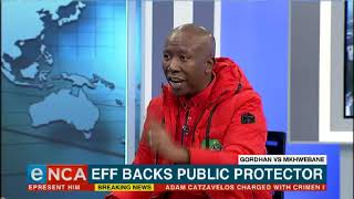 EFF throws weight behind Public Protector