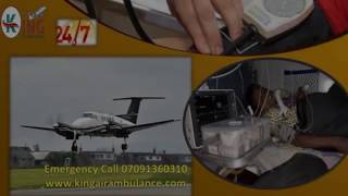 Get Low Cost King Air Ambulance Kolkata