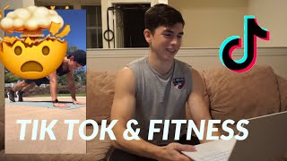 TRYING TIK TOK FITNESS CHALLENGES