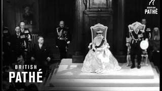 Queen Opens New Zealand Parliament (1954)