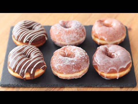 基本的甜甜圈製作方式