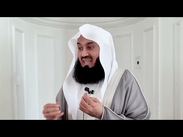 There is no chance if you die like this! - Mufti Menk