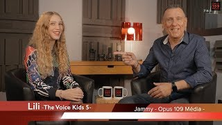 "ENTREVUE N#2 Lili ""The Voice Kids"""