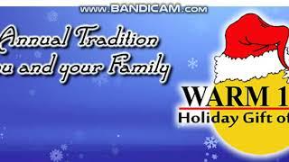 "25 Days Of Christmas Radio 2018 EXTRA: WRMM ""Warm 101.3"" Station ID December 1, 2018 7:03pm"