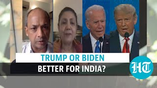 Trump vs Biden, whos better for India? The China, economy, climate factors - Download this Video in MP3, M4A, WEBM, MP4, 3GP