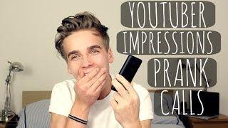 Youtuber Impressions Prank Calls | ThatcherJoe