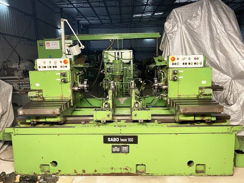 WMW Sabo Facing & Centering Machine