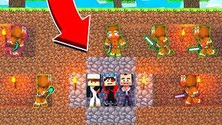 МЫ С МИСТЕРОМ ДОНХОМ(ПОЧЕМУ ОН С НАМИ?) И ПИНГВИНОМ УНИЧТОЖАЕМ КУЛЬТ ПРЯНИКОВ! Minecraft Ant Wars