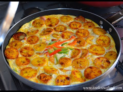 HOW TO MAKE PLANTAIN AND EGG FRITTATA – ZEELICIOUS FOODS