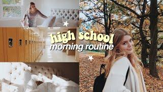 High School Morning Routine 2018