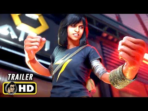 Marvel's AVENGERS (2020) Kamala Khan Announcement Trailer & Gameplay [HD]