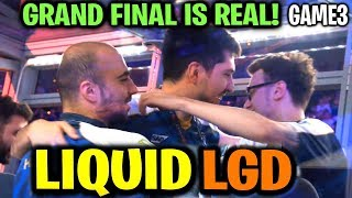 LIQUID vs LGD (Game 3) GRAND FINAL IS REAL! TI9 Dota 2