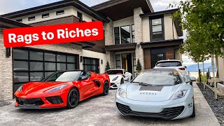 MEET MIKE WHO BUILT A $10 MILLION DOLLAR MANSION FROM SELLING EXOTIC CARS! *CRIBS TOUR*