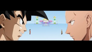 Goku Vs Saitama  Time Of Crossover   1 DBZxOPM