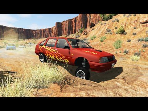 Cars vs Potholes #3 - BeamNG.Drive