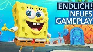 Was ist neu im SpongeBob Remake? - Gameplay aus Battle For Bikini Bottom Rehydrated
