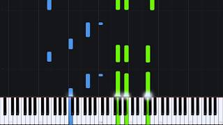 Dance in Sadness - Nicolas Hauptmann [Piano Tutorial] (Synthesia)