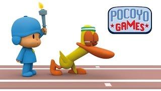 Pocoyo Games: 100 metros lisos