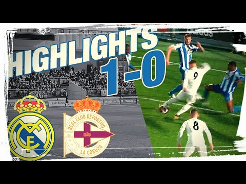 Real Madrid Castilla vs Deportivo Fabril 1-0 | All goals and highlights | 2019