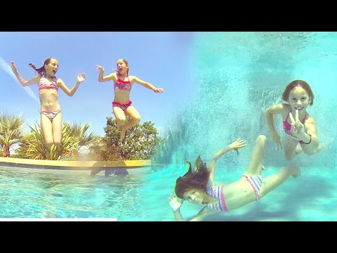 Carla Underwater - biggest swimming pool