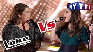 Julia Paul VS Audrey - « Rolling In the Deep » (Adele) | The Voice France 2017 | Battle
