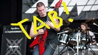Annihilator - King of the Kill - Lesson Guitar, Lesson Solo - Cover