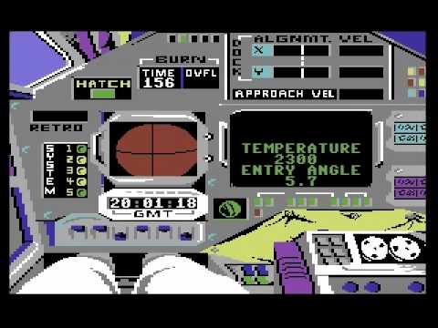 Apollo 18 (Accolade) complete  - C64 Longplay