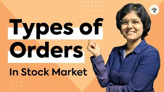 How To Buy Shares In Share Market For Beginners and Types of Orders In Stock Market By CA Rachana