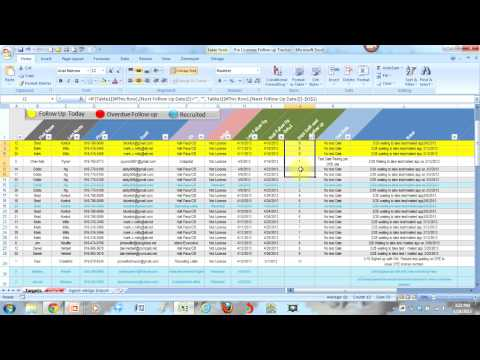 mp4 Follow Up Excel, download Follow Up Excel video klip Follow Up Excel