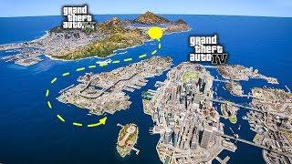 Как попасть из GTA 5 в GTA 4!? В ГТА 5 добавили реальную карту ГТА 4 Liberty City!