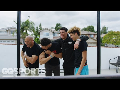 LaVar Ball Explains How His Sons Became the Most Dominating Basketball Players Ever   GQ