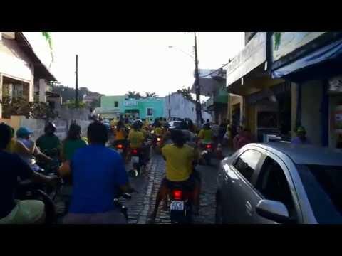 Carreata vitoria do BRASIL LLLLL em Pacoti-ceara