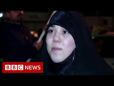 iran crisis tehran launches missile attack and president trump responds bbc news