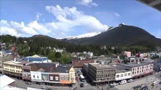 США Круиз на Аляску Остановка в Ketchikan Город на Юге Аляски Мех Бриллианты Лосось