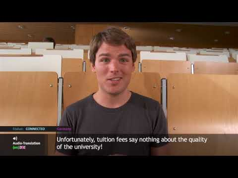Video Student Life: How much does it cost to study in Germany?