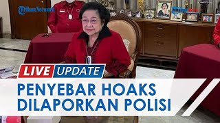 Unggah Kabar Hoaks Meninggalnya Megawati Soekarnoputri, 12 Akun Twitter Dilaporkan oleh PDI-P Bali