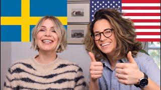 American Woman Speaks Swedish