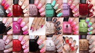 Best Valentines Nail Art Ideas   20 Valentine, Heart, & Lace Nail Compilation By NAILSBYCAMBRIA