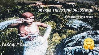 SKYRIM TRISS UNP DRESS MOD