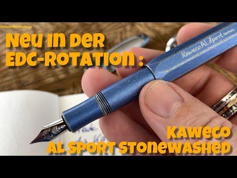 🚨Used-Look: Kaweco AL Sport Füller Blau Stonewashed‼️