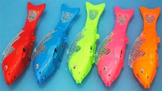 Gambar cover Ikan koi mainan anak | animals toys for kids | learning colors with colored fish toys