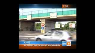 preview picture of video 'I cittadini di Roma Nord contro il traffico della Via Trionfale'