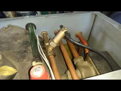 Caldera Ferroli no calienta el agua caliente